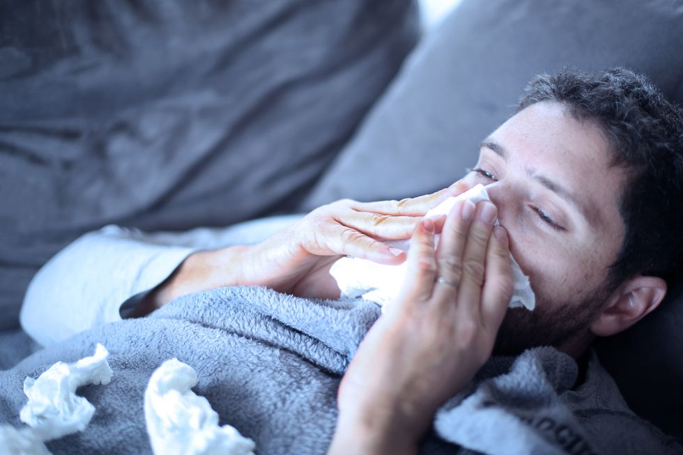 Are Men Just 'Babies' When They Get the Flu? Maybe Not