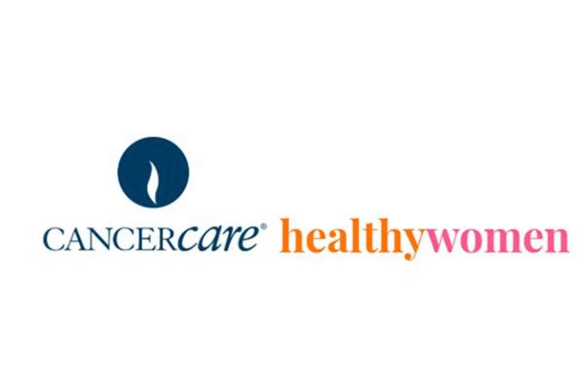 cancer care and healthywomen logos