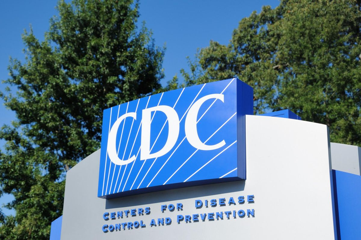 Centers for disease control and prevention sign