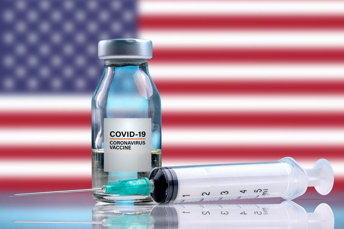 Coronavirus vaccine vial