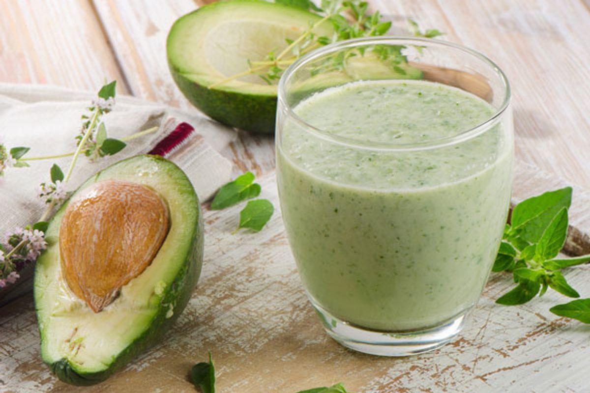Cucumber Avocado Smoothie