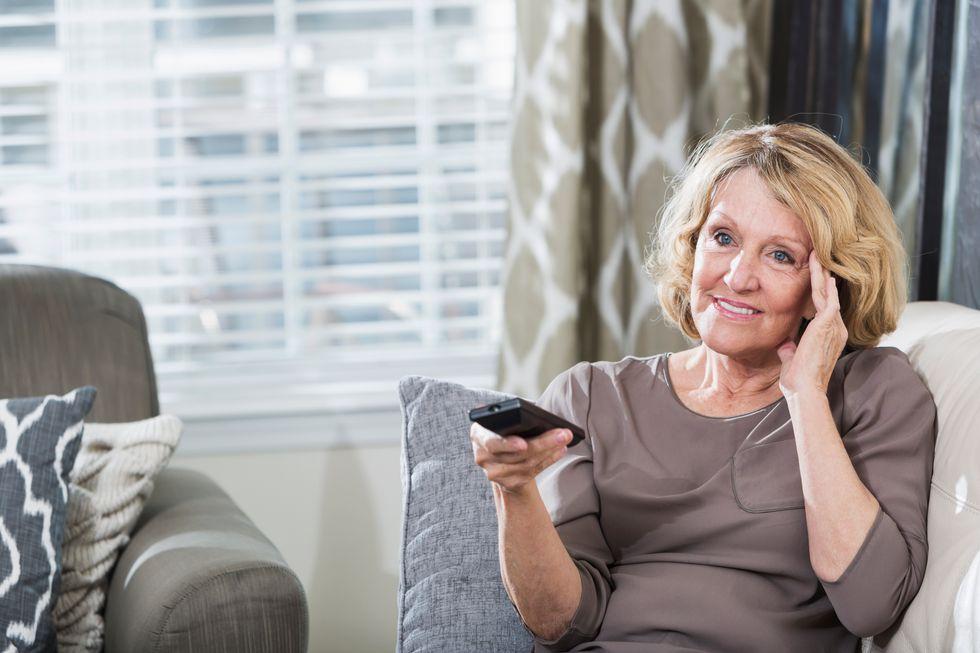 Dementia and tv habits