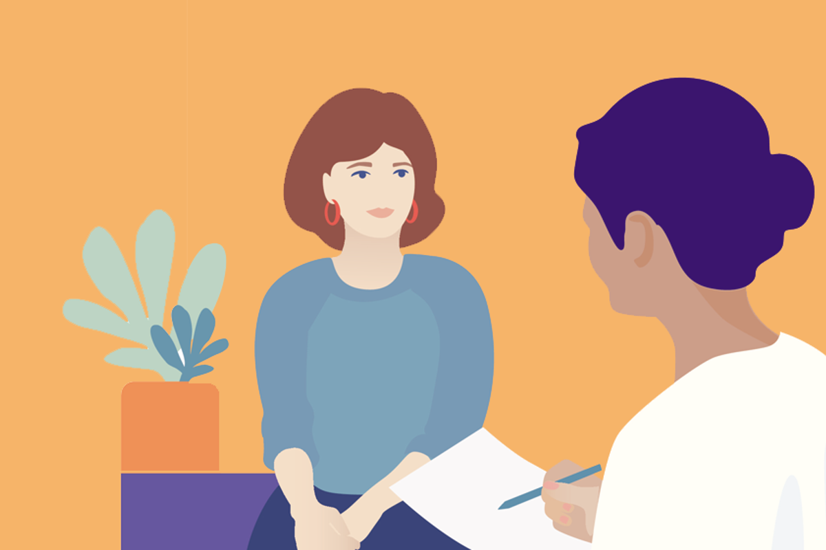 Doctor Talking With a Patient About HPV