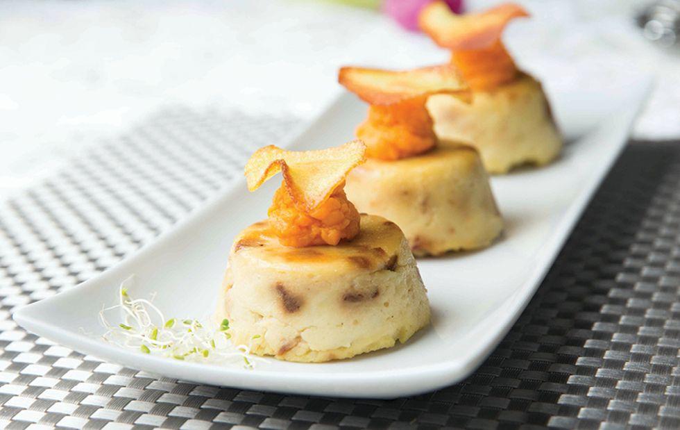 Doughless Potato Knishes
