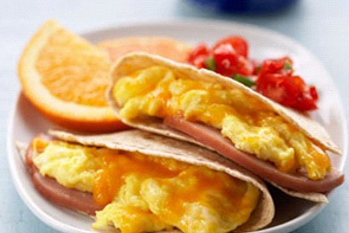 Egg-cellent Breakfast Quesadilla