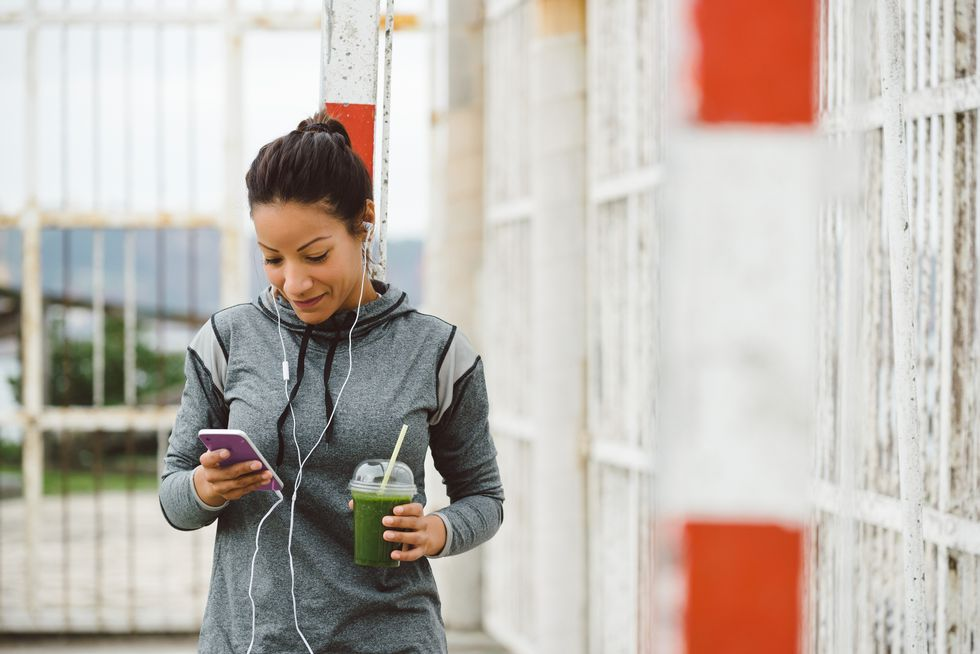 Working Out? Don't Bring Your Cellphone
