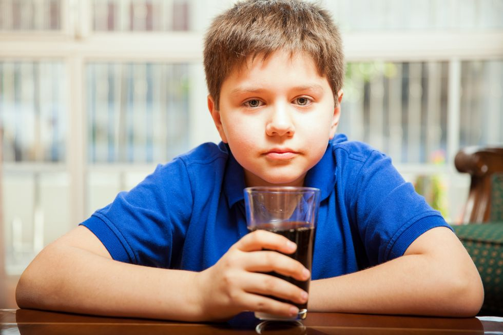 kids and sugary drinks