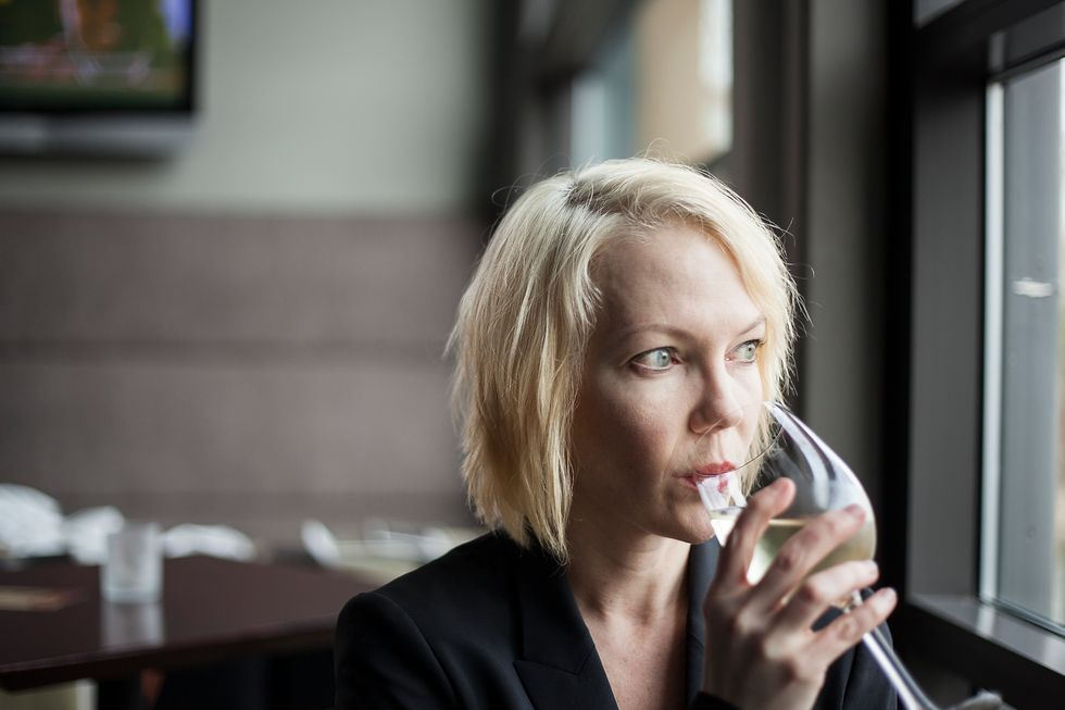 More Older Women Hitting the Bottle Hard