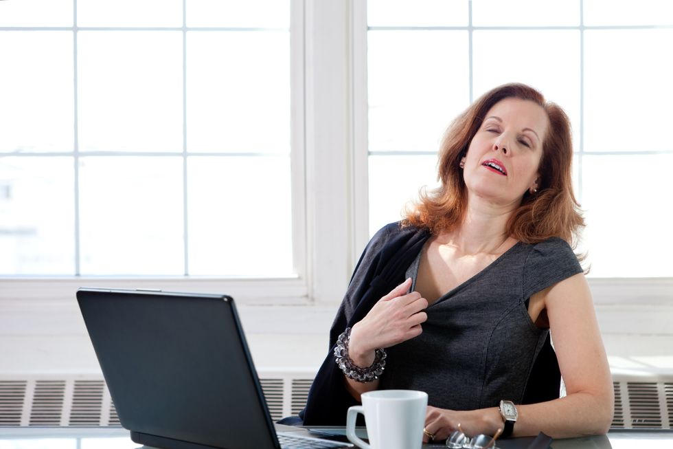 Hot Flashes and Heart Risks