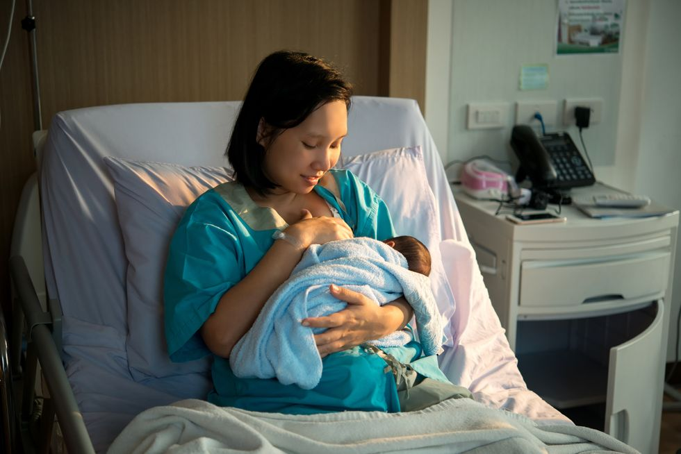 Breastfeeding May Reduce Pain From C-Section