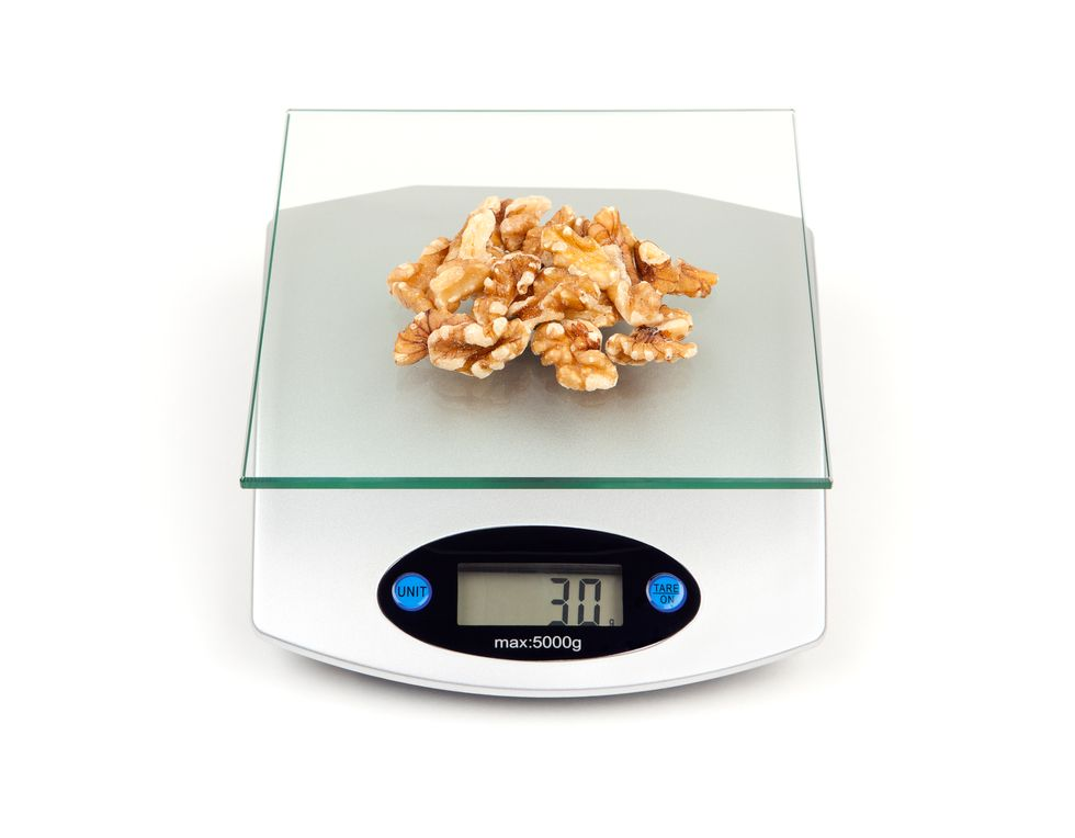 Weighing Portions Adds Up to Weight Loss