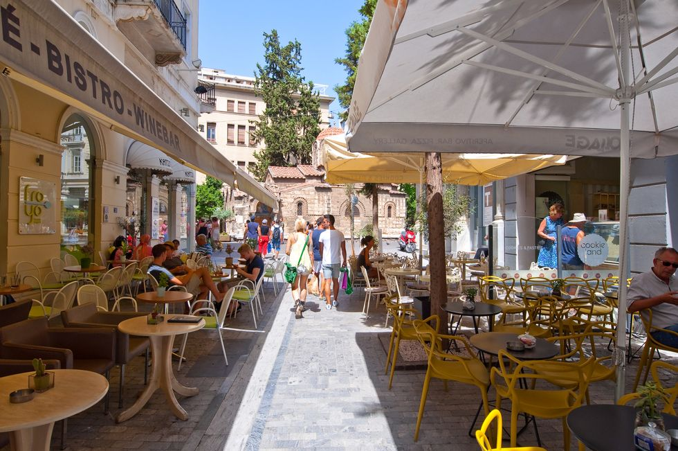 Visiting Athens, Greece