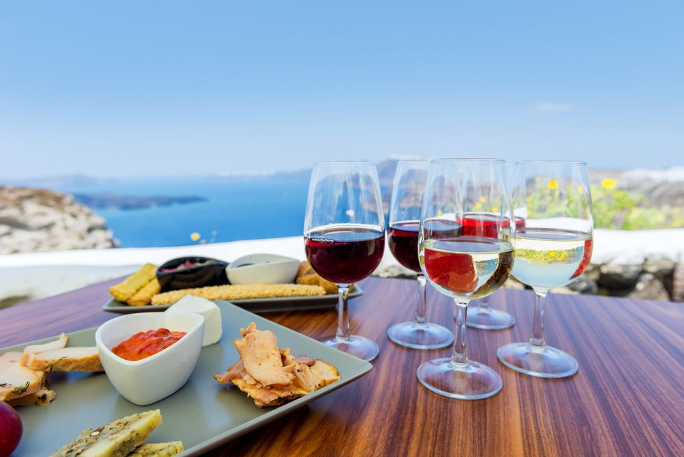 Visit to Greece: A Fabulous Wine and Food Tour in Santorini