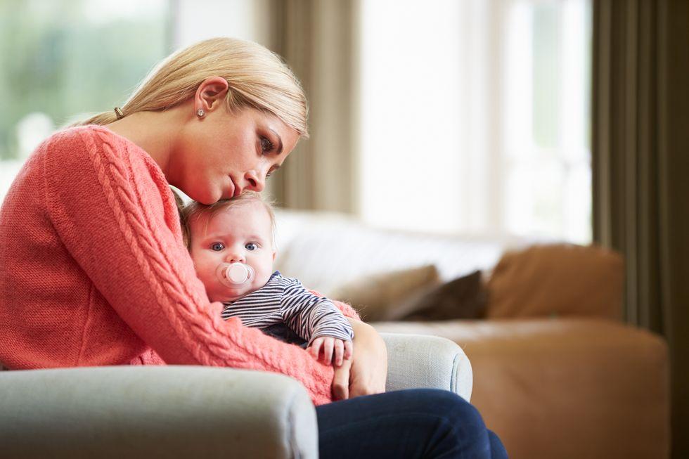 1 in 5 Moms Keep Postpartum Depression a Secret