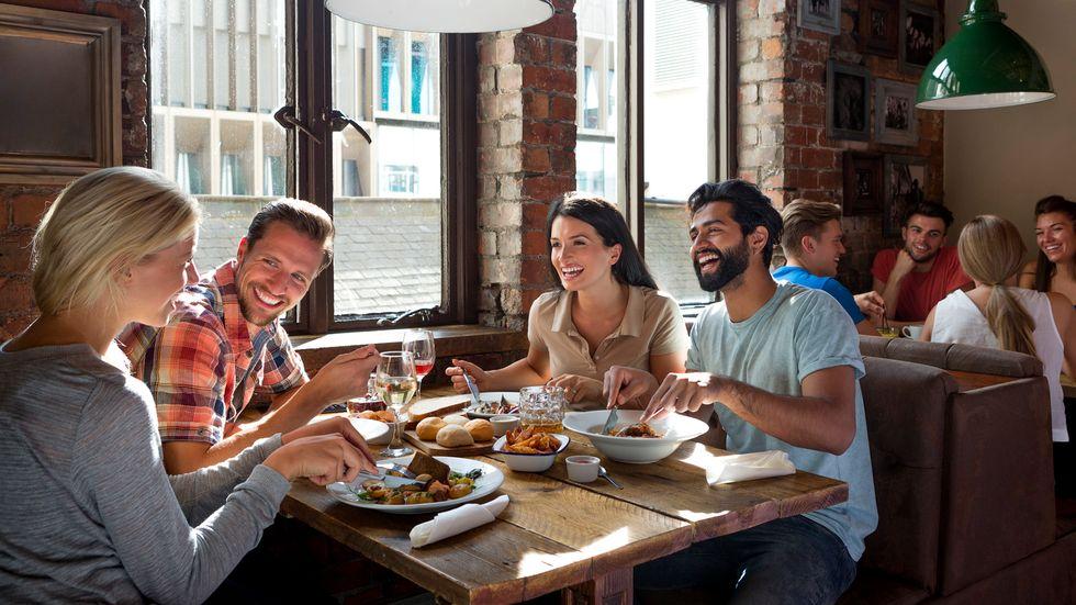 Eating Feeds 'Feel Good' Hormones in the Brain