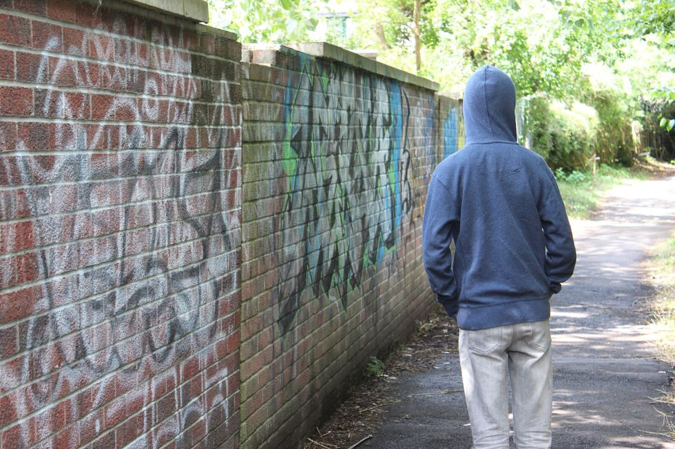 Kids Don't Hang Out Where Crime Threat Is High