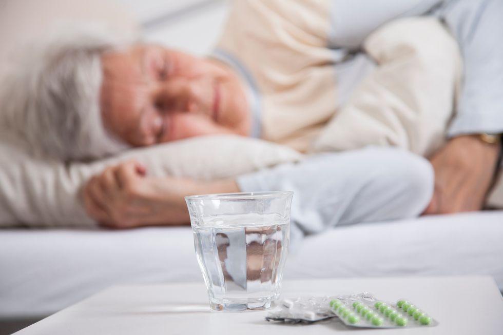 1 in 3 Seniors Take Sleep Aids