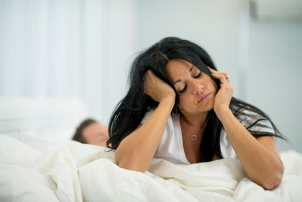 Middle-Aged Women Struggling With Insomnia