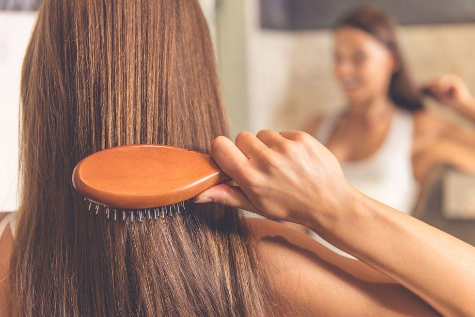 Hair-Brushing Mistakes
