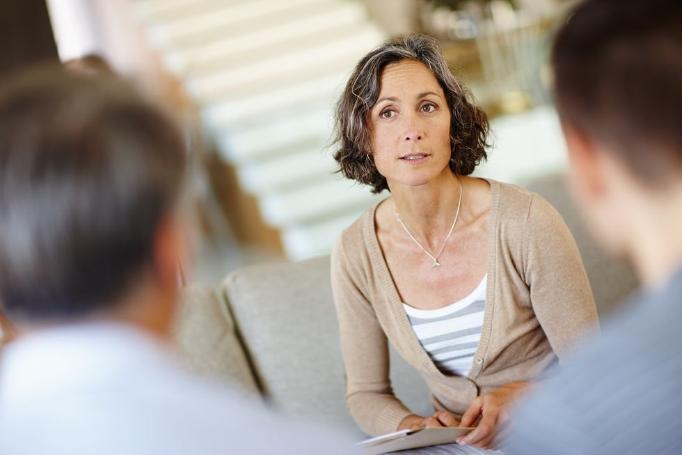 Talk Therapy May Help Menopause Woes