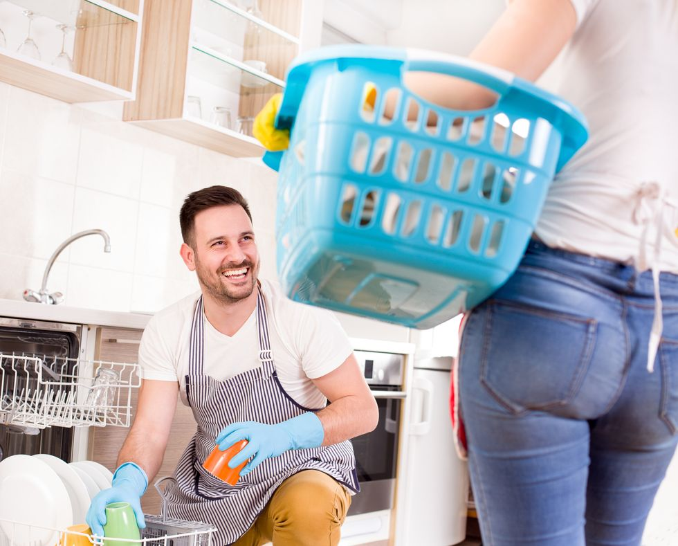 A Husband's Housework May Bring Bedroom Benefits