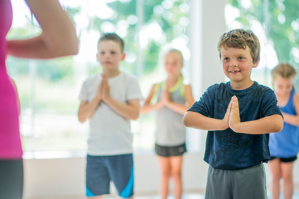Yoga Can Soothe Anxious Grade Schoolers