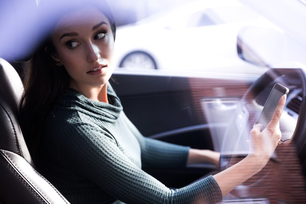 Phone-Using Drivers Knowingly Ignore the Danger