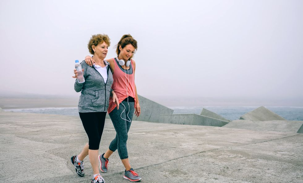 Walk Briskly to a Longer Life