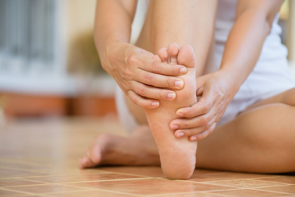 Why Are Your Toes Curling Down?