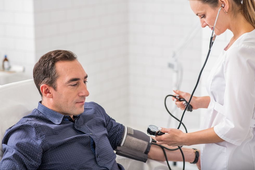 Men and High Blood Pressure