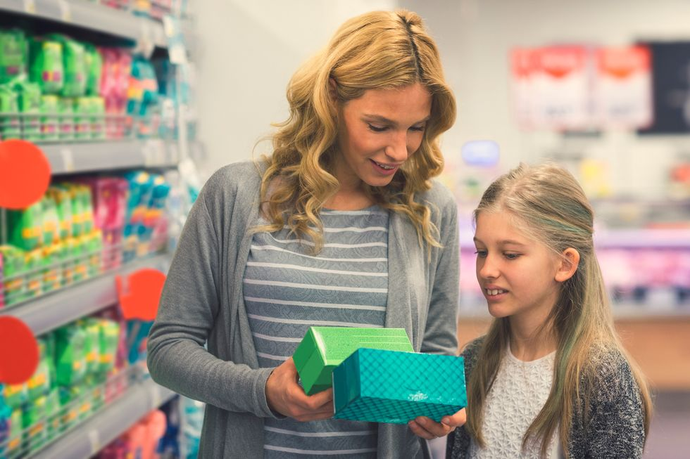 Your Daughter's First Period: How You Can Help