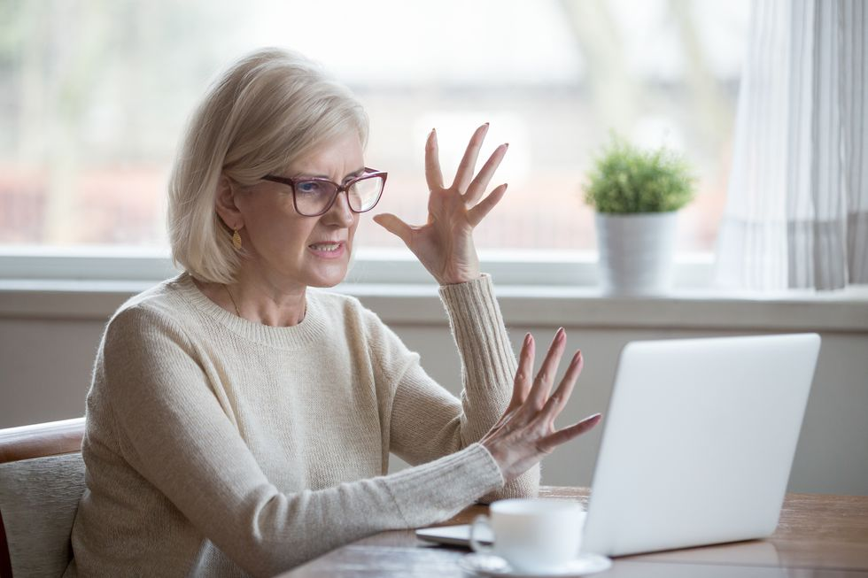 Anger a Threat to Health in Old Age