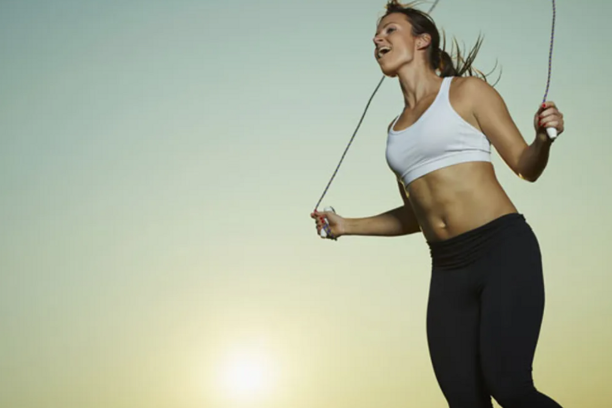 jump rope burn calories