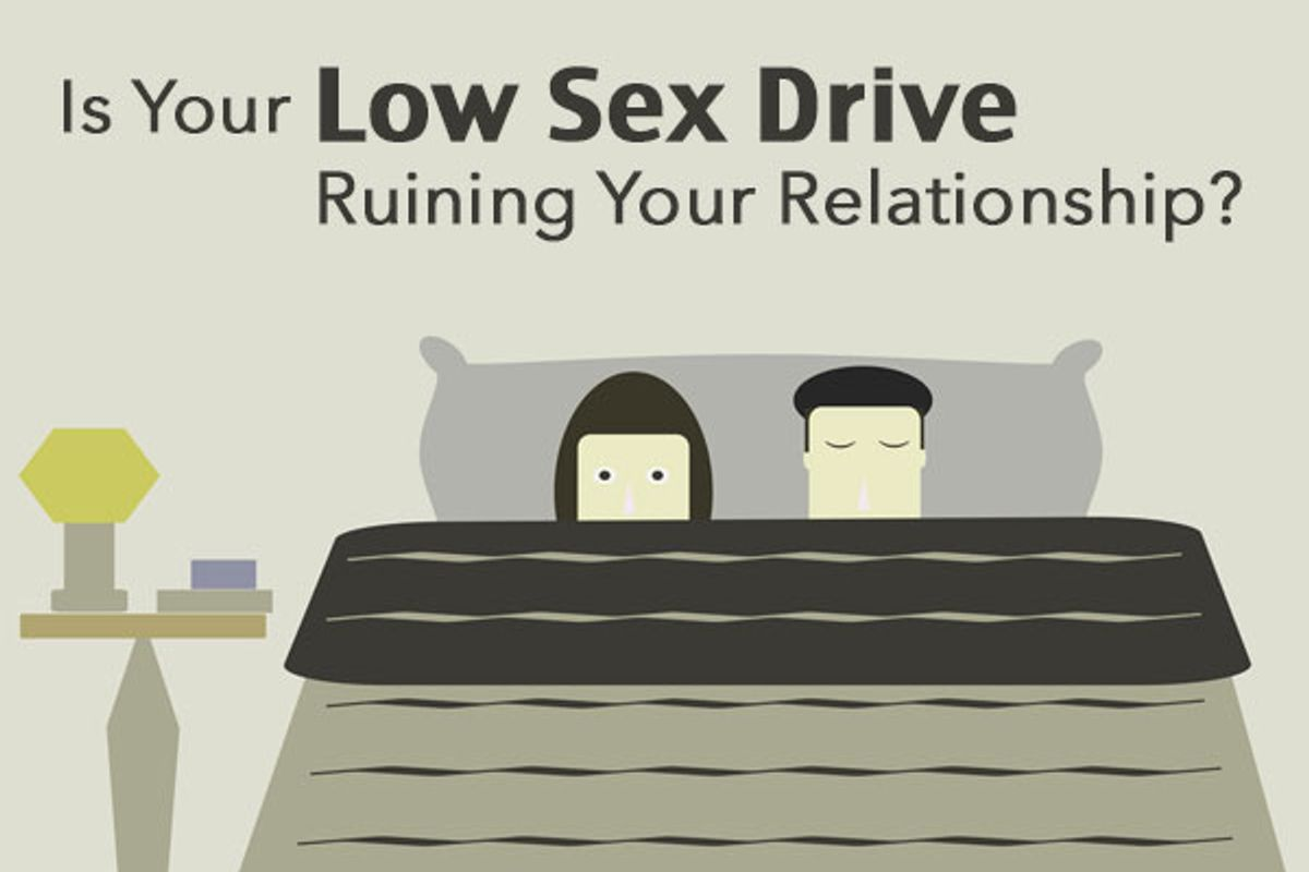 Is Your Low Sex Drive Ruining Your Relationship?