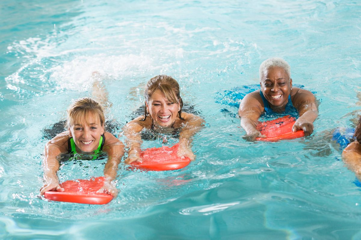 Lose Weight With Water Workouts