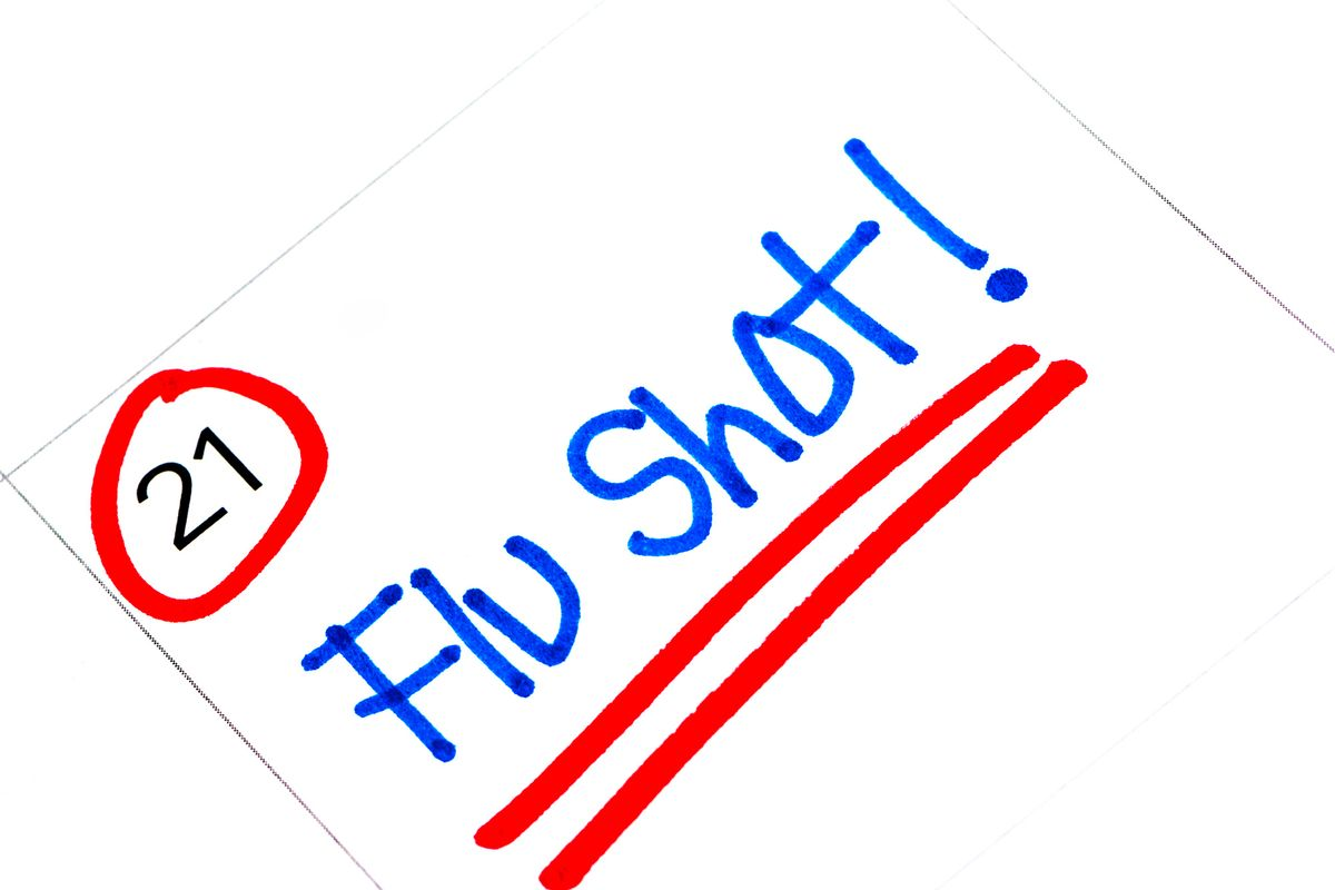COVID + Influenza: This Is a Good Year to Get a Flu Shot, Experts Advise