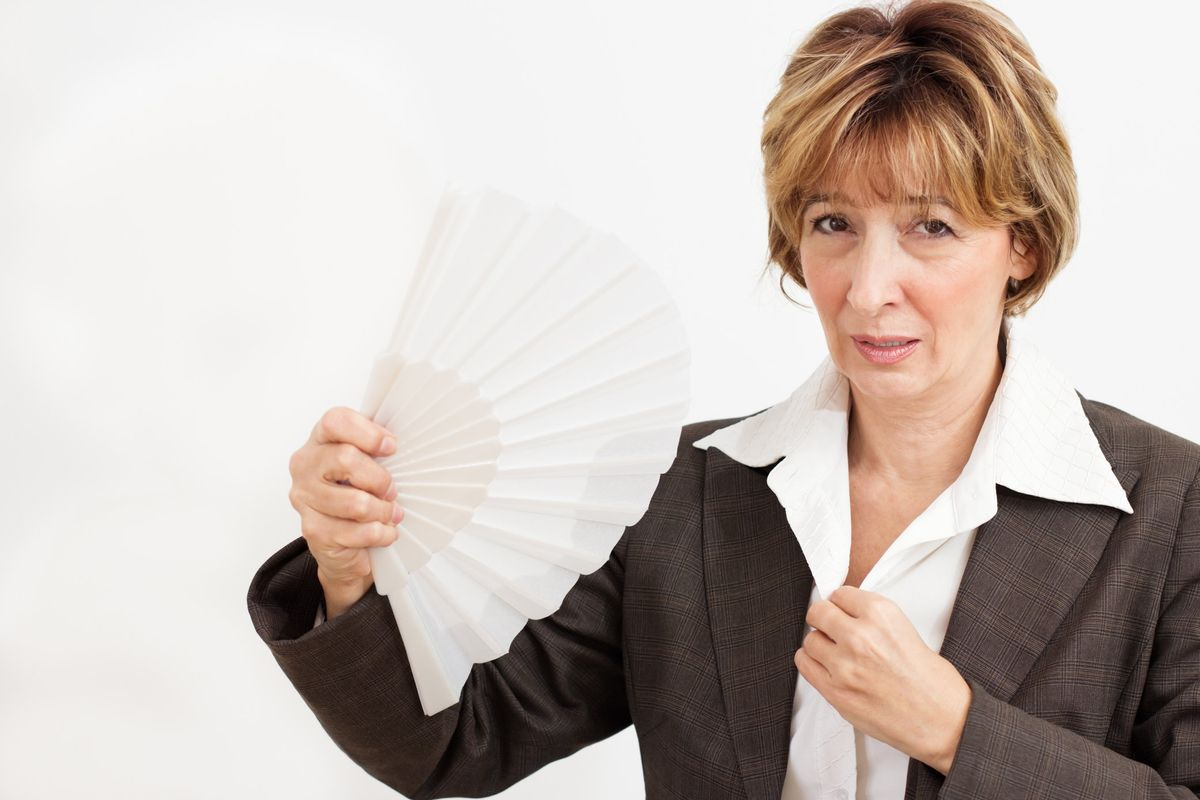 Hot Flashes Getting You Down? Here's a Reason to Feel Up