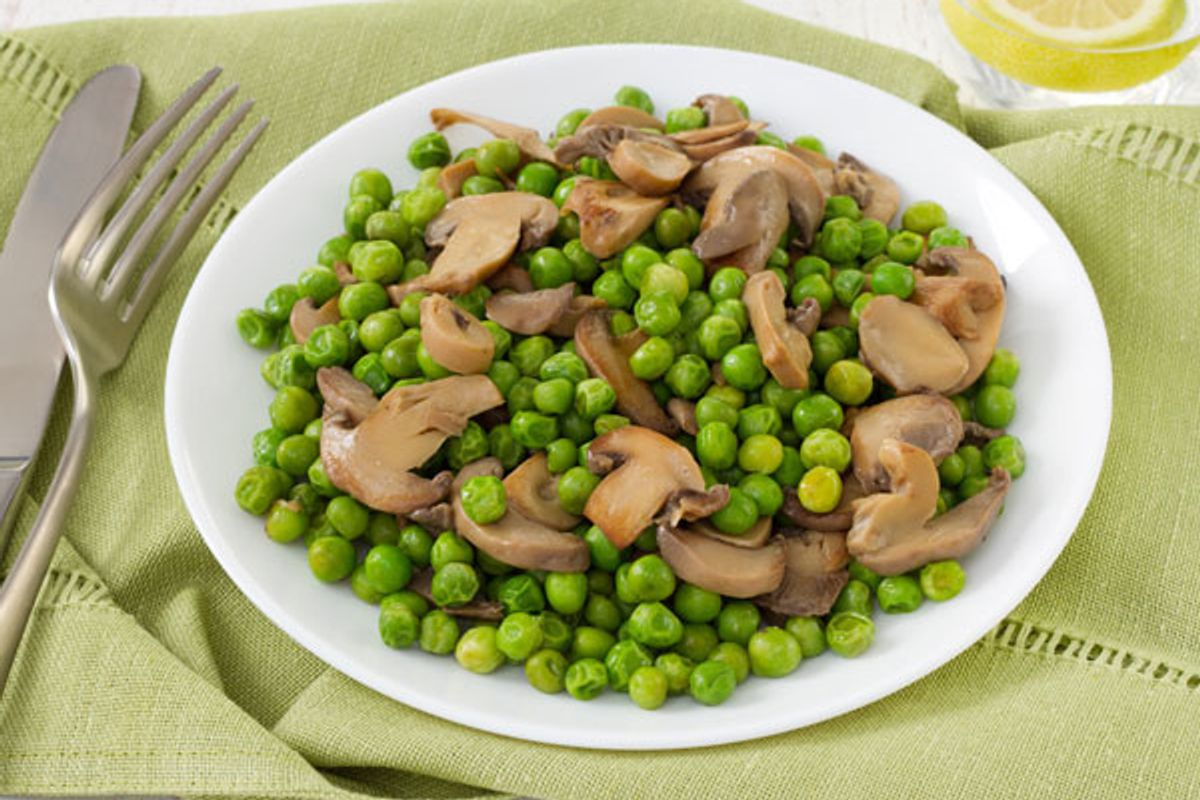 Onions and Mushrooms and Peas, Oh, My
