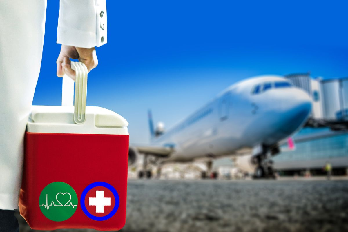 How the Airline Industry Recovers From Covid-19 Could Determine Who Gets Organ Transplants