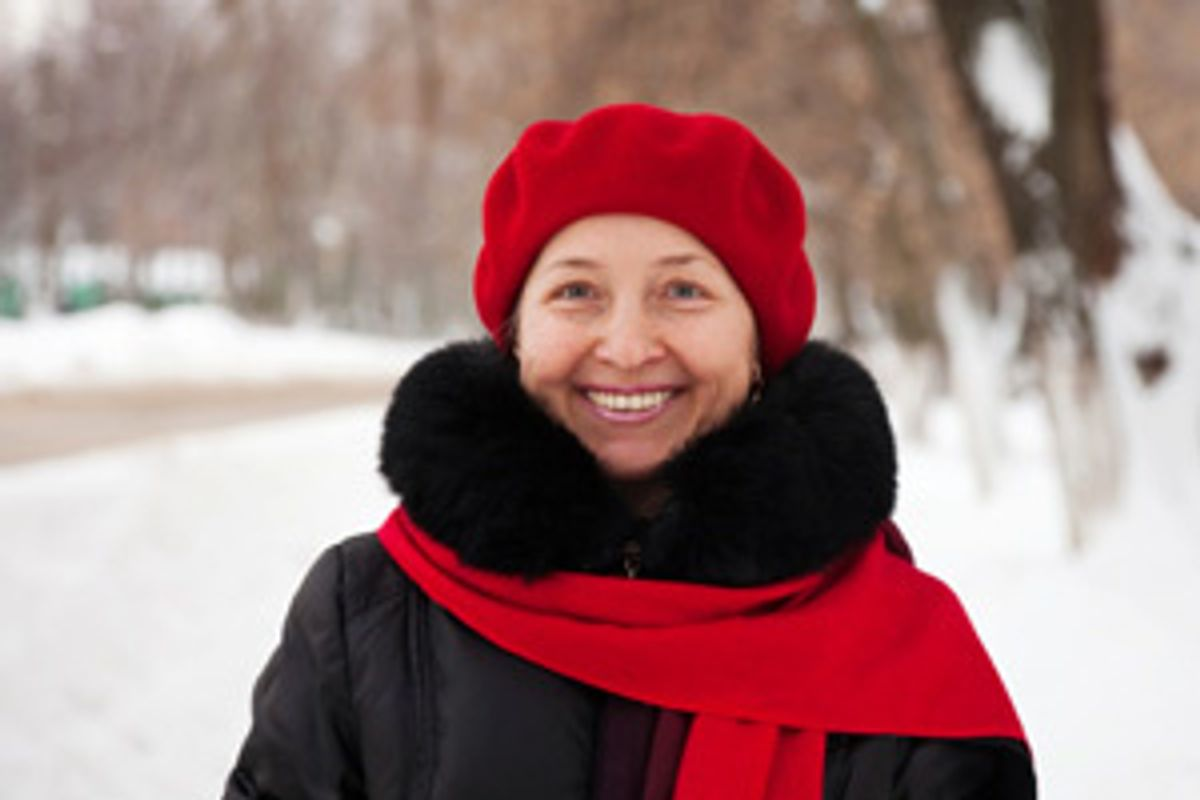 Keep Hot Flashes at Bay When Bundled Up