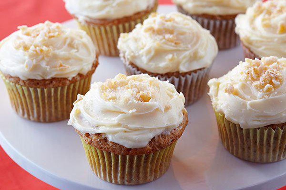 Ginger Spiced Tofu Cupcakes
