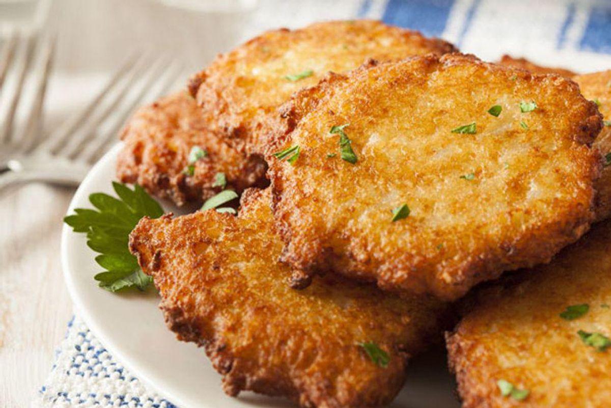A Special Twist on a Favorite Hanukkah Dish: Moroccan Potato Latkes