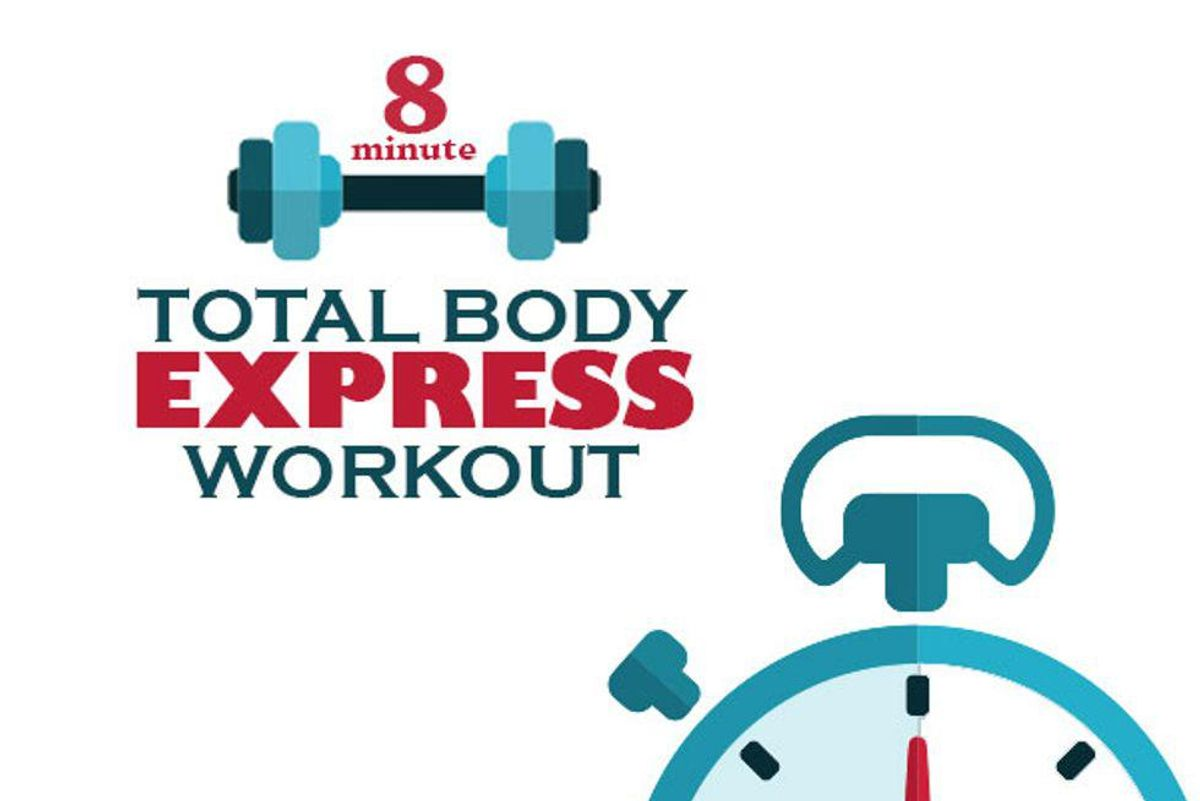 8-Minute Total Body Express Workout