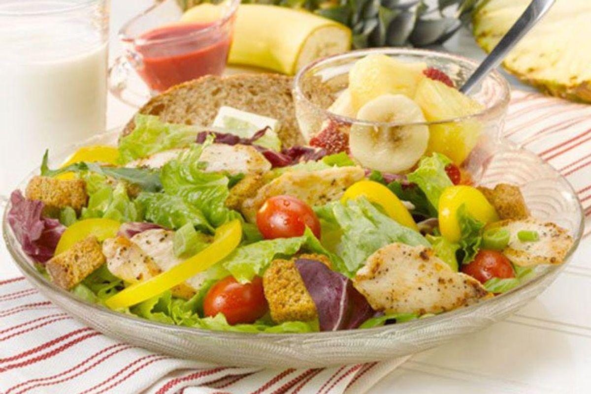 European Salad With Raspberry Vinaigrette