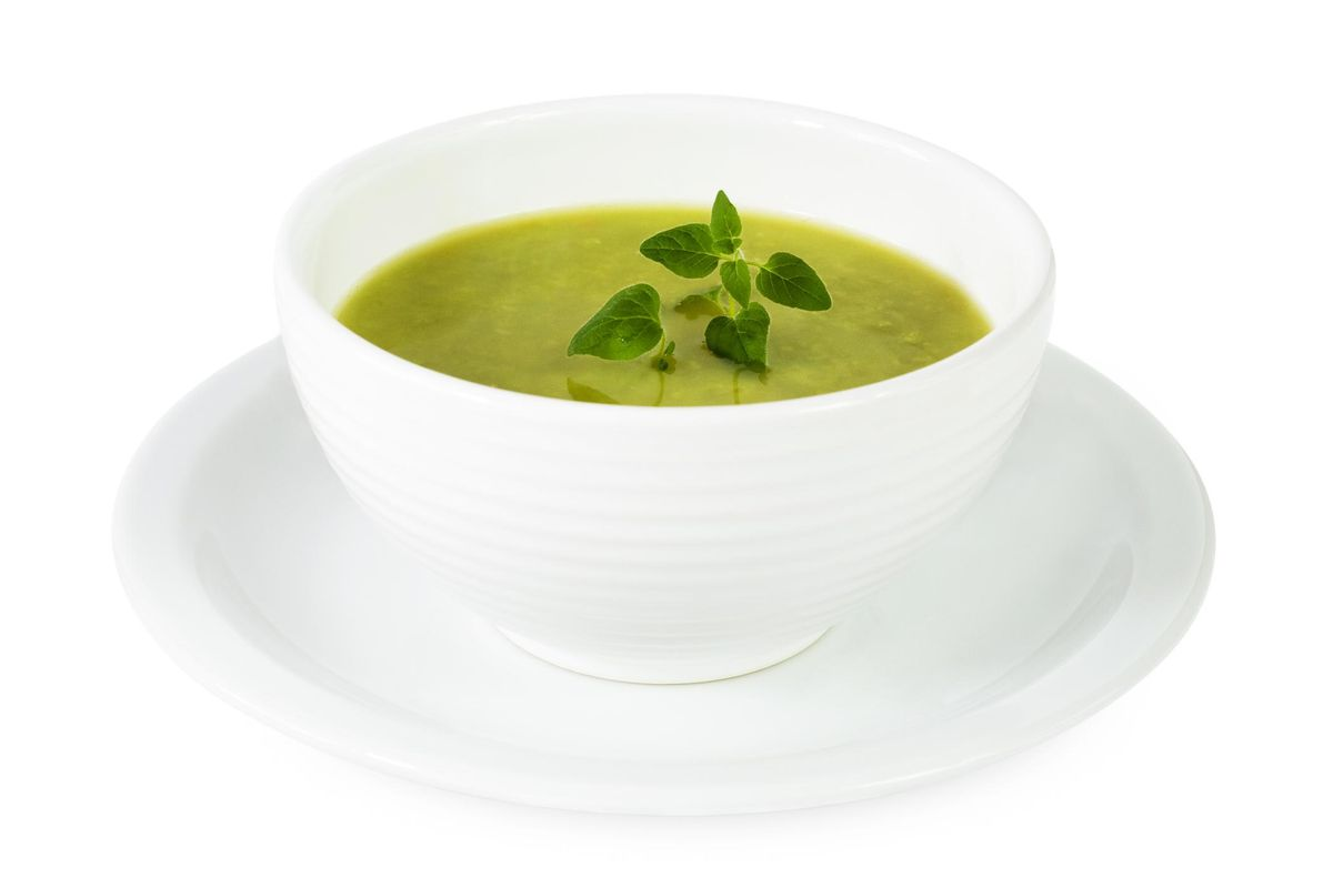 Zucchini and Fresh Mint Cold Soup