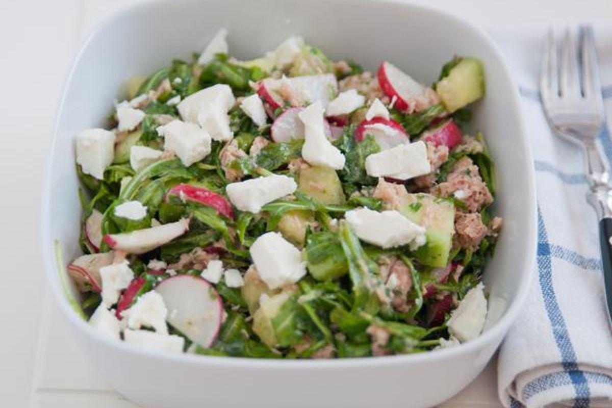 Tuna Feta Salad