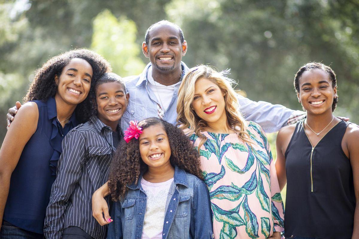 Diverse Family Photo