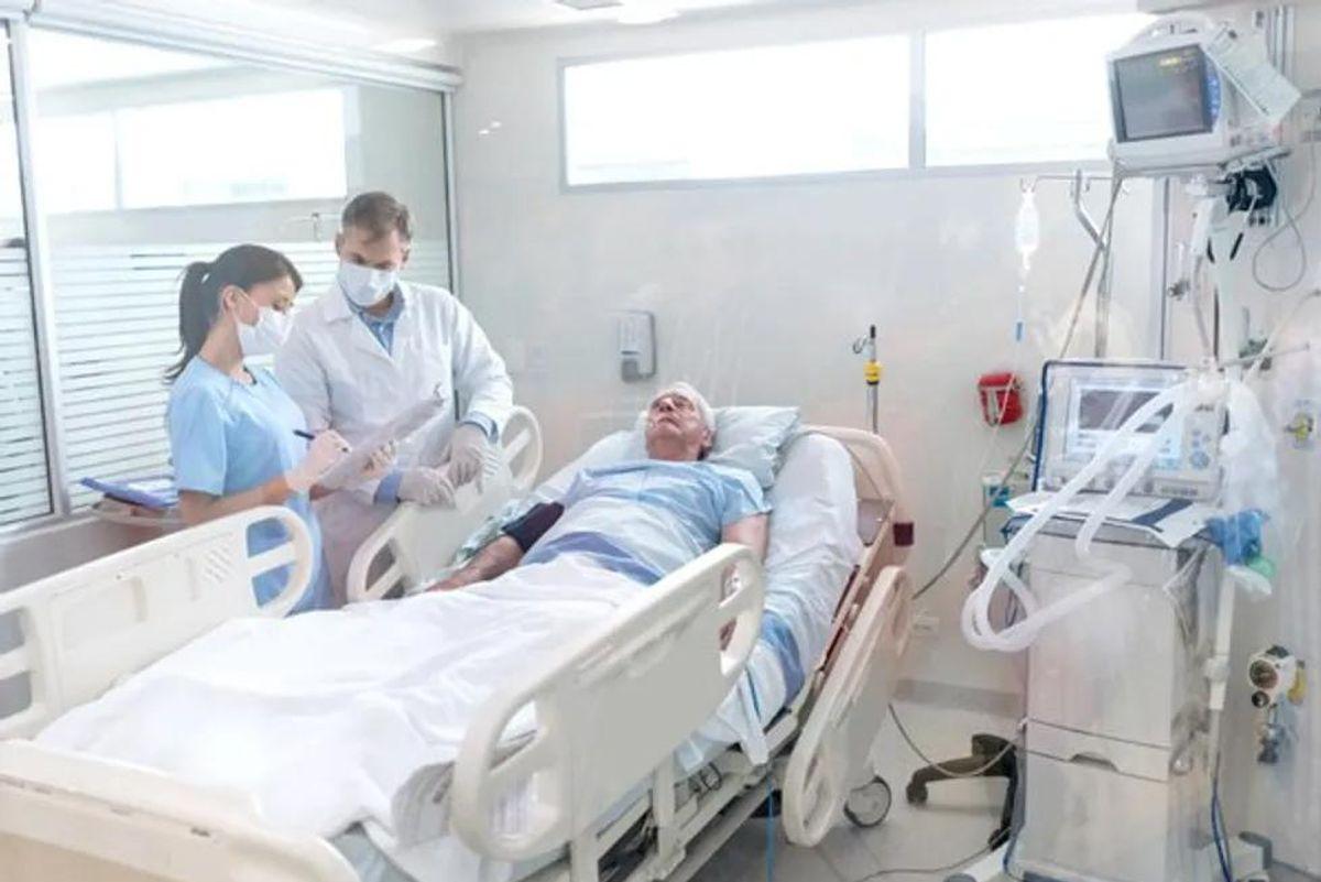nurse in hospital
