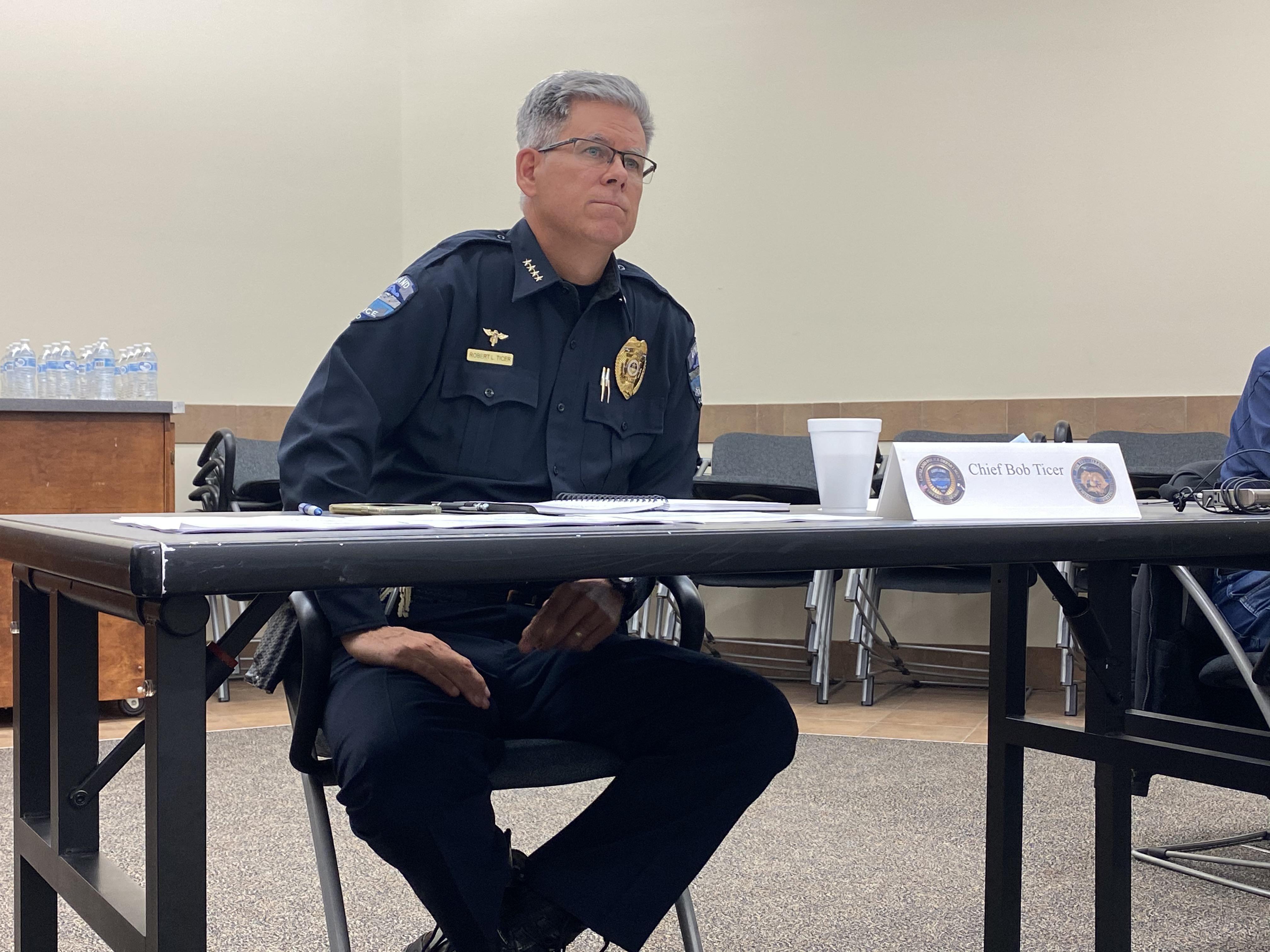 Loveland Police Chief Robert Ticer
