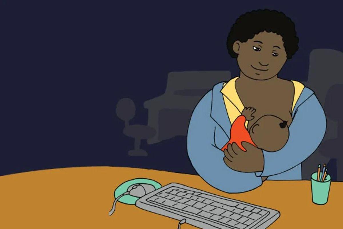 breastfeeding at work